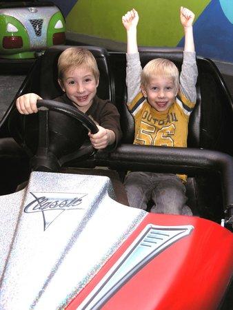 Laser Mania Family Fun Center: Bumper Cars