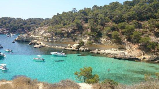 Calvia, Espanha: Vista de cima