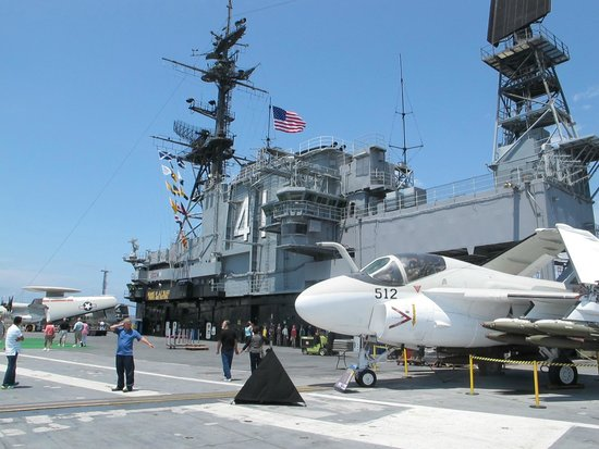 USS Midway Museum: The conning tower