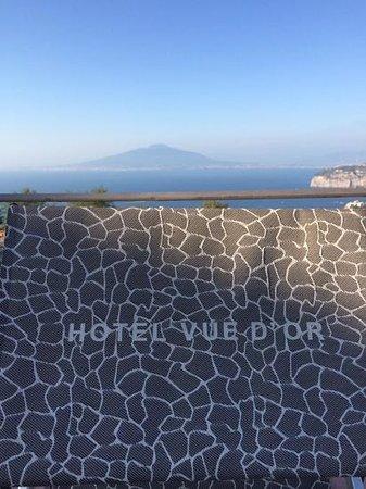 Hotel La Vue D'Or: my sun bed