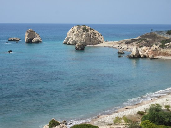 Aphrodite's Rock : Petra tou Romiou (View from the B6)
