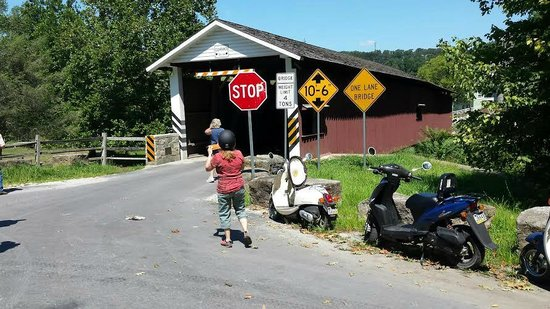 Strasburg Scooters: Covered Bridge Stop