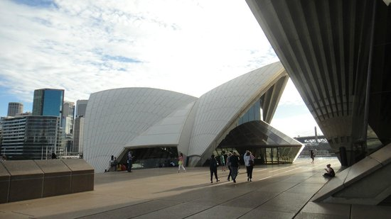 Sydney Opera House: por fuera