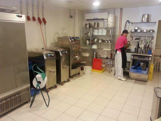 Tartufo La Gelateria: Our Factory