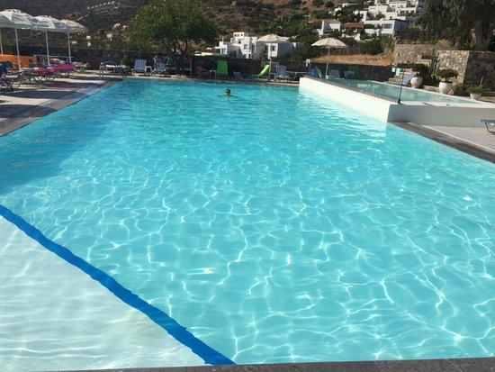 Elounda Ilion Hotel : la piscine