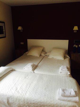 Hotel Rural Montañas de Covadonga: Habitación con cama supletoria
