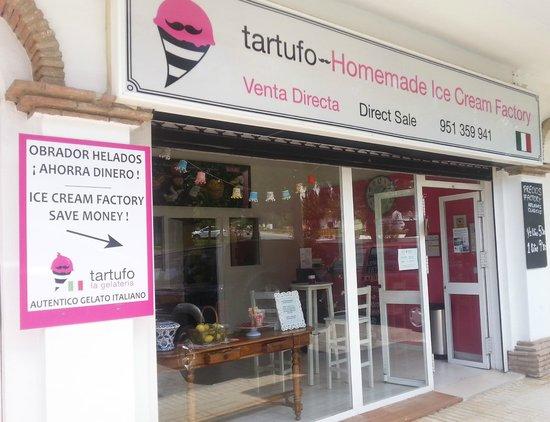 Tartufo La Gelateria Factory, Carretera de Mijas km 2.5 , Mijas