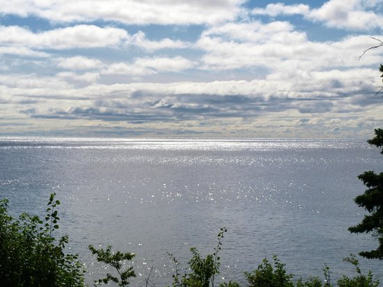 Bluefin Bay on Lake Superior: View from my room