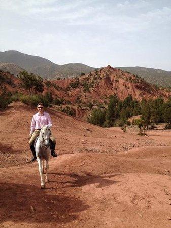 Domaine de la Roseraie: Riding in the Atlas Mountains