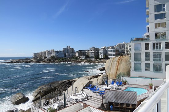 Bantry Bay International Vacation Resort: View of Bay from unit patio.