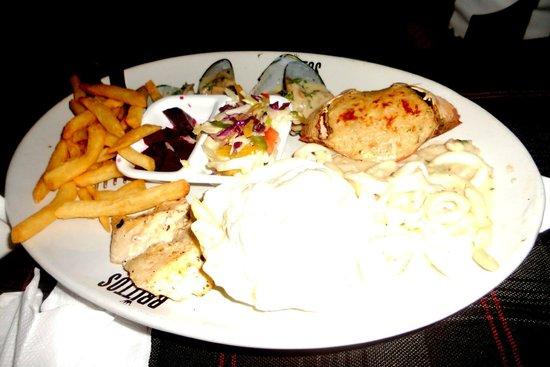 Britto's: Sea Food Platter