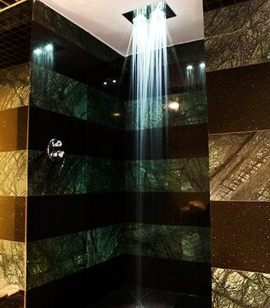 Grand Hotel Palace: Kami Spa Chromatic Shower