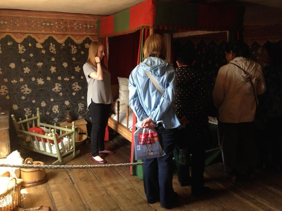 Shakespeare's Birthplace: a bedroom