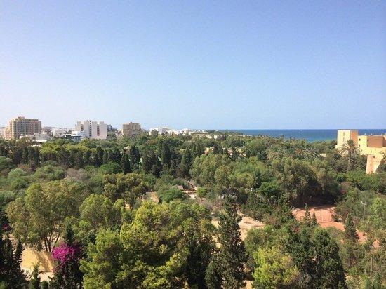 Tour Khalef Marhaba Thalasso & Spa: View from fifth floor stunning!