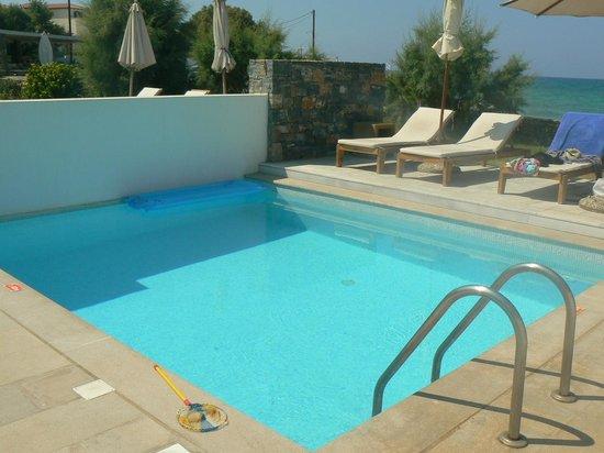 The Island Hotel: own pool