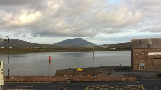 Achill Island Hotel : My Room with it's view