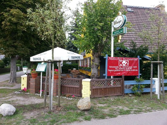 Ostseebad Prerow, Germany: K2 Indisches Restaurant