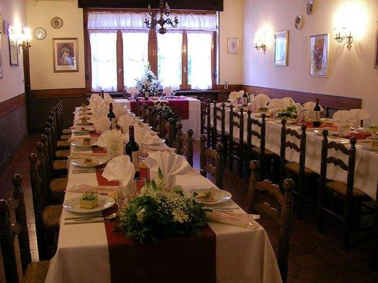 Santhia, Italy: Sala ristorante