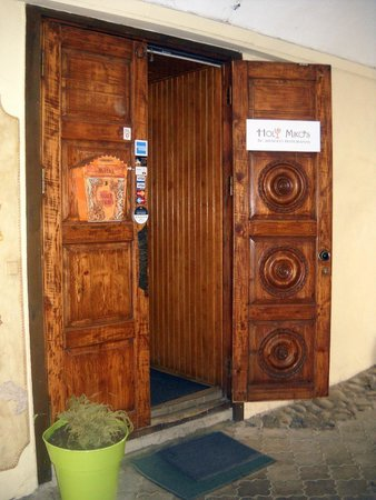 Heavy wooden door - Picture of Mykolo 4, Vilnius - TripAdvisor