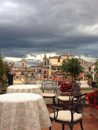 Albergo del Senato: view from terrace