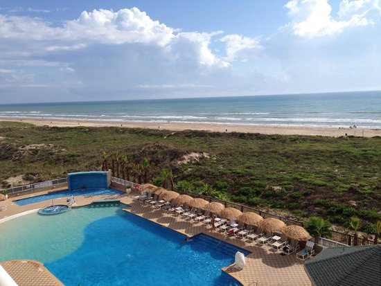 Hilton Garden Inn South Padre Island: View from 4th floor