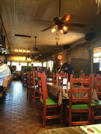 Carlos Mexican Restaurant Cantina Dining Area At