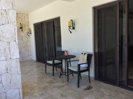 Secrets Maroma Beach Riviera Cancun: Honeymoon Suite Terrace