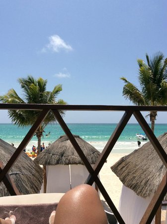 Secrets Maroma Beach Riviera Cancun: View from Sundeck of Presidential Cabana