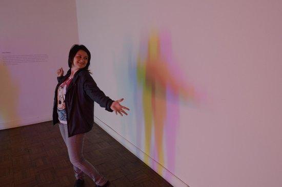Ca' Pesaro Galleria Internazionale d'Arte Moderna: Light installation