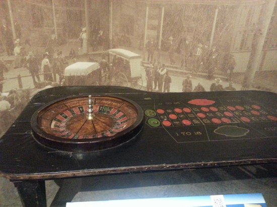 Buffalo Bill Historical Center : Old roulette
