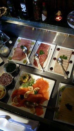 Hotel de Orangerie: Petit déjeuner