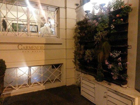 Carménere: Frente do Hotel - bonito e charmoso