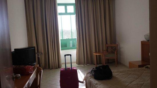 El Mouradi El Menzah: camera con grata che non ho accettato