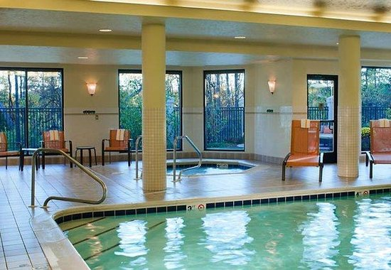 Courtyard by Marriott Traverse City: Indoor Pool & Spa