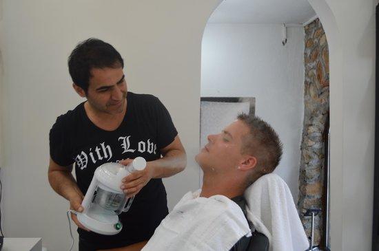 TUI Sensimar Marmaris Imperial Hotel: Turkish Shave