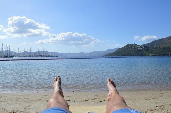 TUI Sensimar Marmaris Imperial Hotel : Chilling on the Beach