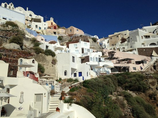 Oia Mare Villas: Surroundings