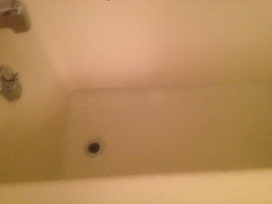 The Edgewater Inn: Water not draining in bathroom