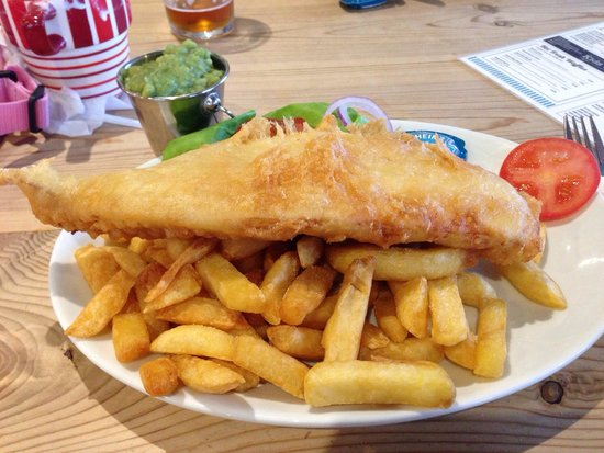 Rosie's Kitchen: Jumbo cod and chips