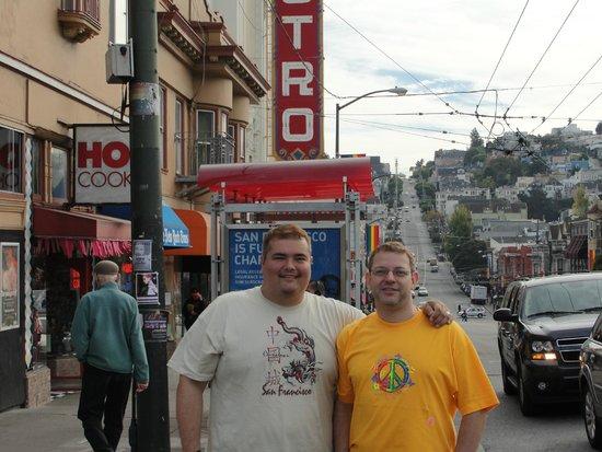 The Castro: Alfred e Glaucio no Castro