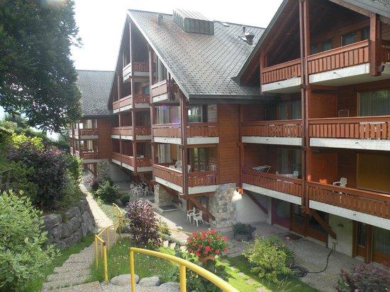 Hotel des Bains d'Ovronnaz : Appertementhaus