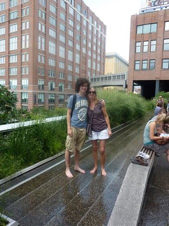 paddling on the High Line