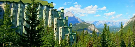 Rimrock Resort Hotel: Our room with a Spectacular View