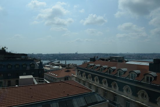The Marmara Pera Hotel : view from room