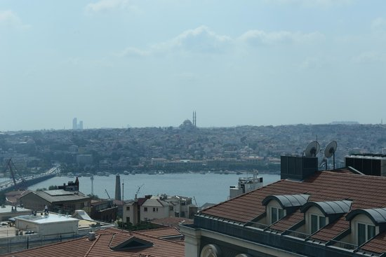The Marmara Pera Hotel: view from room