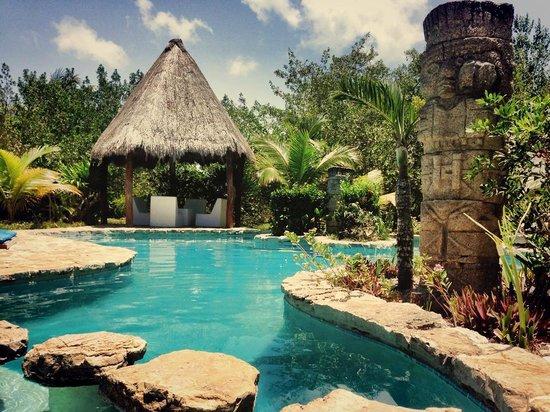 Hotel Villas Delfines: la alberca espectacular
