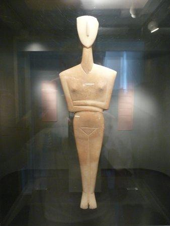 Musée d'art cycladique : art cycladique typique