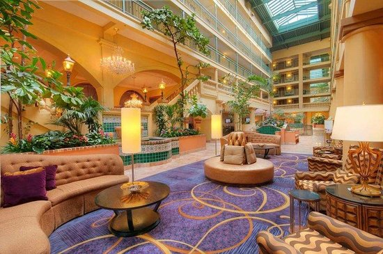 Embassy Suites by Hilton Hotel Los Angeles International Airport South: South Lobby