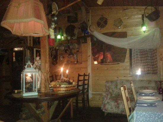Antica Locanda Skansen: L'interno