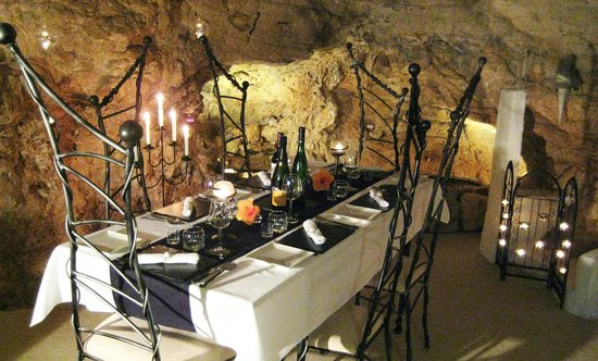 Benidoleig, España: Private dining in the Oldest Dining Room in the World....
